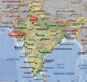 Delhia_ahmedabad_map